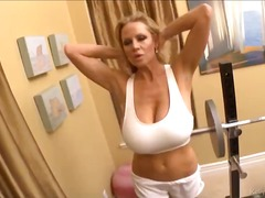 Work out those big boobs kelly madison