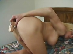 boobs, shemale, blonde, solo, toys,