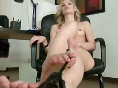 sex toy, strapon, toy, dildo, blonde