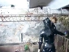 Hot sexy horny latex m...
