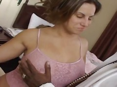 Busty white chick's interracial hardcore