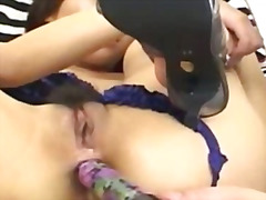 Violet toy in a asian ...