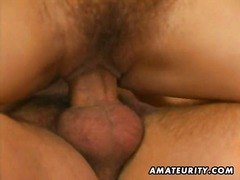 Amateur threesome with...