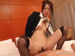 See: Asian sexy stweardess ...