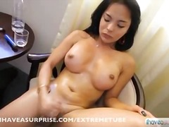 shemale, jerking, solo, compilation,