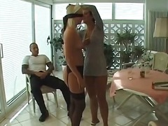 Blonde old milf got fu...