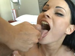 Alpha Porno Movie:Kinky brunette abbie cat swall...