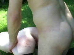 french, wife, bdsm, outdoors
