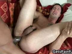 Horny and sexy gay stud blows massive...