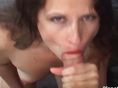 Some hairy milf enjoys...