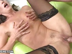 cumshot, mature, pussy, small, fingering, brunette, milf, boobs, gaping, lick, natural, hardcore, kissing, tits, ass, pornstar