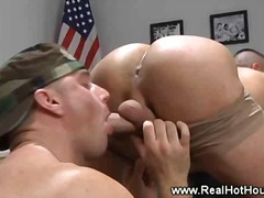 ass, lick, gay, fingering, uniform