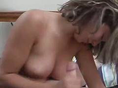 masturbation, toys, mature, blonde, amateur, handjob, mom, milf