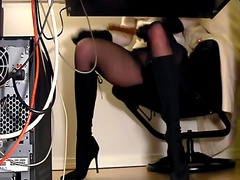 Secretaries under desk hid... - 05:22