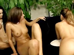 Hot brunette lesbos fi... preview
