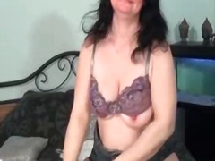 masturbation, stockings, mature,