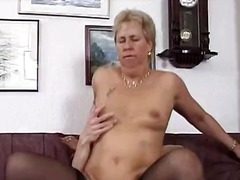 See: Hot blonde slut goes c...