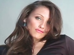 DrTuber Movie:Gorgeous brunette honey celest...
