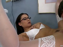 Sexy dentist ann marie rios with