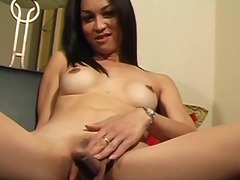 Sultry ladyboy has a s... preview