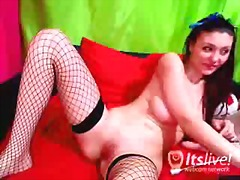 nylons, masturbation, webcam, nylon,