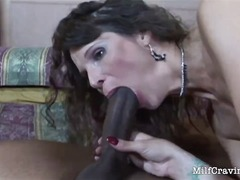 interracia, cougar, milf, hardcore, mom