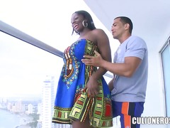 Wetplace Movie:Long haired brunette ebony lad...