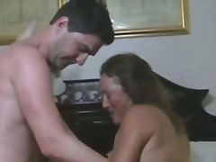 Mature threesome swing... video
