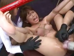Japanese bondage sex -...