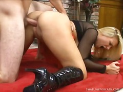 Over Thumbs Movie:Stunning blonde veronika raque...