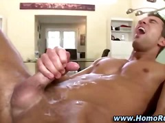 Muscle straighty cums for bear cock