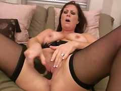 Voluptuous cougar-in-t...