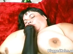 See: Horny woman riding a b...