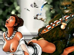 Thumb: Star wars orgies