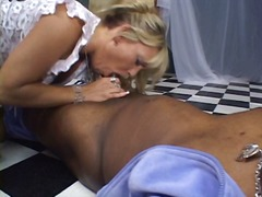 Black cock mouth fucking slut