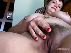 masturbation, hairy, mature, chubby