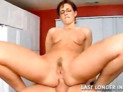 Big ass anal mom with smal saggi tits