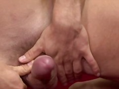 Sporty muscled gay rub... video