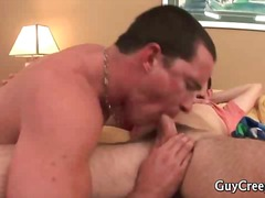 Stud decides to wake his sleeping prince!