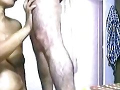 Indian hairy aunty fucking with husband in bedroom