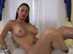 busty, handjob, monstercock