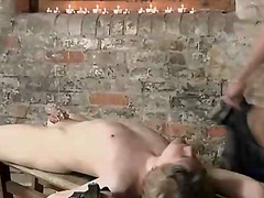 Horny tied up hunk get... video