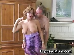 Nuvid - Big boobed whore sucking white cock