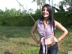 Updatetube Movie:Adorable arousing black haired...