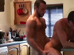 Tight european gay ass gets slammed