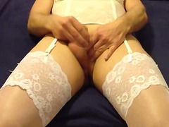 stockings, lingerie, crossdresser,