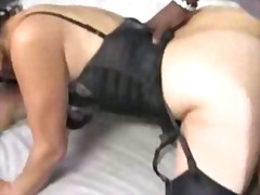 blowjob, ebony, insertion, mature