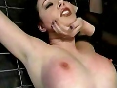 Lesdom fucks her juicy...