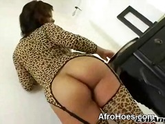 black, solo, ass, ebony, babe, tits, nipples, booty, butt, big ass