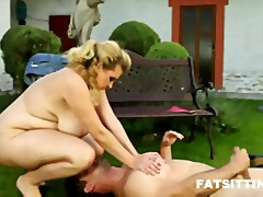 Hot bbw kristy face si...